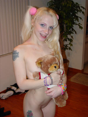 Britni and her Teddy Bear
