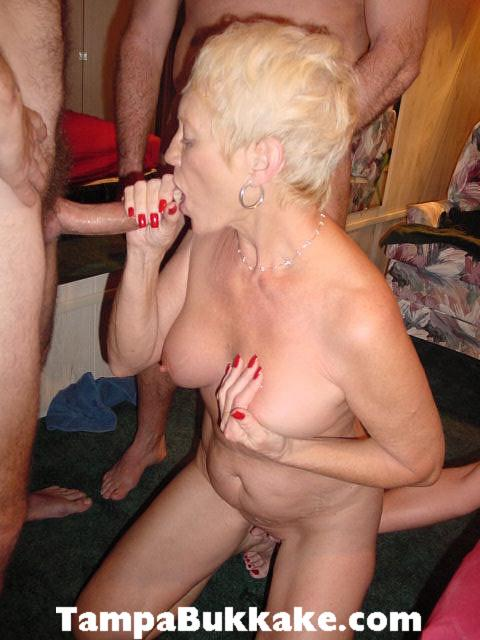 Bi swingers and her first milf pussy 8